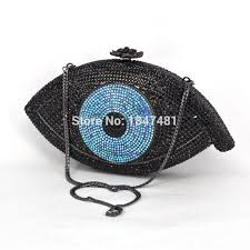 Gold Evil eye <b>bag</b> Women <b>clutch bag silver evening bag</b> femme ...