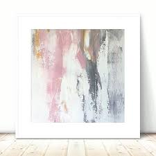 pink and gold wall art large grey painting white metallic abstract light metal decor square a on large white and gold wall art with pink and gold wall art large grey painting white metallic abstract