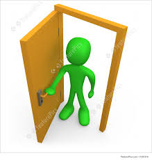 open front door illustration. Simple Door To Open Front Door Illustration A