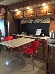 replace rv dining furniture. inside-our-rv-sneak-peek-dining-office replace rv dining furniture