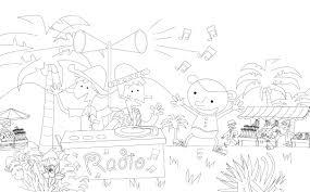 Een Radio Op De Markt Kinderrechtenschool