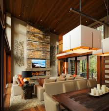 Sloped Ceiling Living Room Living Room Camping Ideas Living Room Rustic With High Ceiling