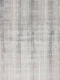 contemporary rug patterned wool silk drift iii light grey