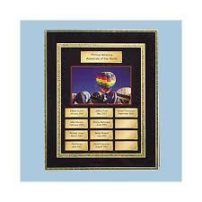 Employee Of The Month Photo Frame Advantus Employee Of The Month Eom Certificate System With 11w X 13