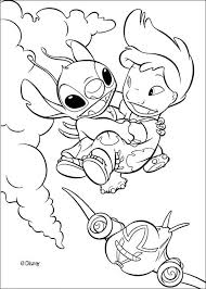 Small Picture Lilo flying with stitch coloring pages Hellokidscom