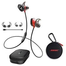 bose soundsport wireless. bose soundsport pulse wireless in-ear headphones, red - with charging case for soundsport s