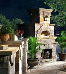 the outdoor fireplace and pizza oven diy