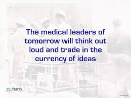 Out Loud Charts Medical Leaders Will Think Out Loud 33 Charts