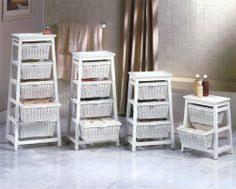 Exceptional Storage Cabinet With Wicker Baskets | ... Wicker Bedroom Furniture Online:  White Wicker