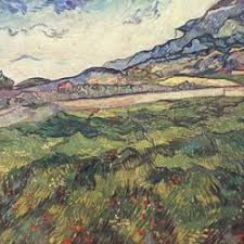 Green <b>wheat field by</b> Van Gogh - Van Gogh Canvas
