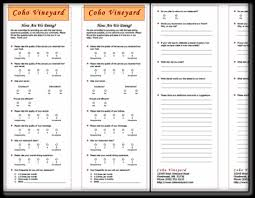 Restaurant Survey Restaurant Survey Template 3 Download Free Example In