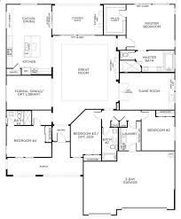 One Level 4 Bedroom House Plans Awesome 589 Best Floor Plans Images On  Pinterest