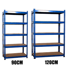 metal storage shelves. sentinel foxhunter 5 tier metal garage workshop warehouse shed storage shelf racking unit shelves