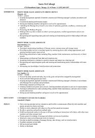 Resume For Sales Associate Front Desk Sales Associate Resume Samples Velvet Jobs 9