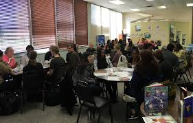 on saay april 8 2017 another books and breakfast discussion took place at the martin luther king community center this month s book was in search