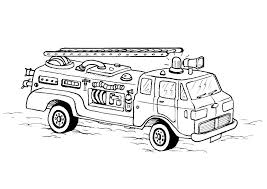 Free Fire Truck Coloring Pages Printable Free Jokingartcom Free