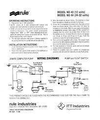 bilge pump float switch rd wire community