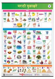 Swar Vyanjan Chart Marathi Mulakshare Chart For Kids Marathi Alphabet And Numbers Perfect For Homeschooling Kindergarten And Nursery Children 39 25 X 27 25 Inch