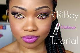 riri boy makeup tutorial