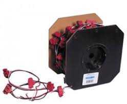"""m50900 100 3 pin 12"""" lead continuous wiring harness 100 per roll 3 pin 12"""" lead continuous wiring harness 100 per roll"""