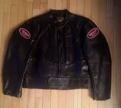 details about vanson leathers new women s black leather motorcycle jacket rare size 20