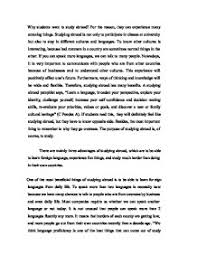essays about study abroad how to write an outstanding study abroad application essay