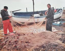 Image result for Old clinker fishing boat pics.