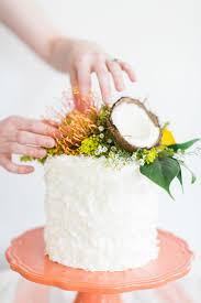 Triple Coconut Cake Inspiration The School Of Styling