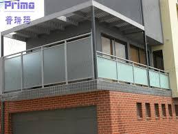 railings glass balconies frost glass railing balcony