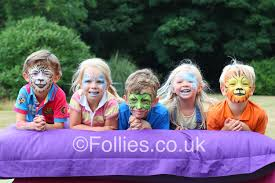 face painting parties by follies in kent london face painting parties by follies in kent london