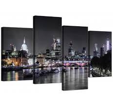 cheap canvas art living room 130cm x 68cm 4211 on white black wall art with black and white canvas pictures prints wall art free delivery