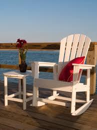 South Beach Adirondack Rocking Chair Rocker Polywood Outdoor Furniture Dock