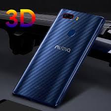 ALIVO <b>5Pcs</b>/<b>lot 3D Clear Carbon</b> Fiber Protective Sticker Screen ...
