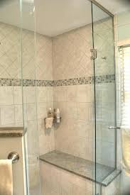 tile showers with bench wild shower stall walk in built tiled seat ideas wit interior design