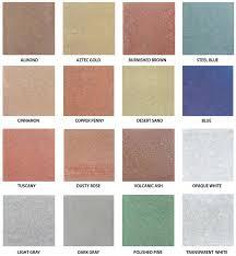 Concrete Floor Color Chart Incredible Concrete Floor Stain Color Blending Acid The