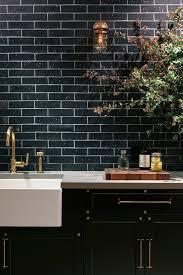 Best 25+ Black subway tiles ideas on Pinterest | Black tile bathrooms, Black  tiles and Black wall tiles