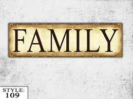 wood sign glass decor wooden kitchen wall: wooden family sign family gift living room sign wood wall hanging sign home decor wall