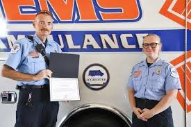 Going for the <b>gold</b>: Madison County EMS receives award, accreditation