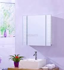 white bathroom mirror with shelf. foxhunter-led-illuminated-mirror-bathroom-cabinet-steel-storage- white bathroom mirror with shelf e