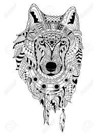 Wolf Kleurplaat In Kleurplaten Dieren Wolf Kleurplaat Vor Kinderen
