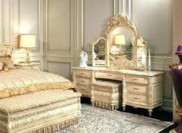 Gold Bedroom Furniture Sets Image Of White And Gold Bedroom ...