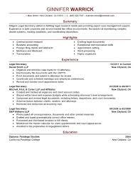 Paralegal Job Description For Resume Resume Paralegal Job Description Resume 21