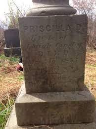 Priscilla D Scott Crosby (1800-1853) - Find A Grave Memorial