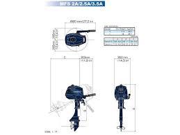 3 5 hp tohatsu outboard short shaft bridge yachts tohatsu 3 5 hp outboard motor