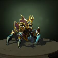 dota2 nyx assassin the chosen s carapace polycount