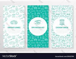 Ophthalmology Medical Brochure Template Flyer