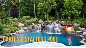 Gartengestaltung Pool - YouTube