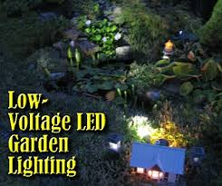 low voltage led garden lighting