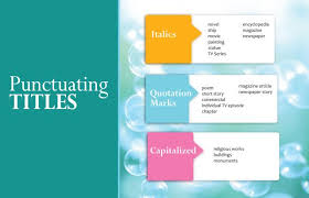 how to write names in literature review