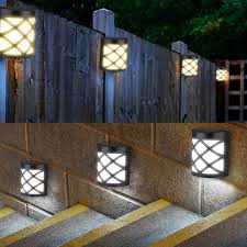 Solar Led Garden Lights Ebay Details About Waterproof Solar Light 6 Led Motion Sensor Wall Light Outdoor Garden Yard Lamp